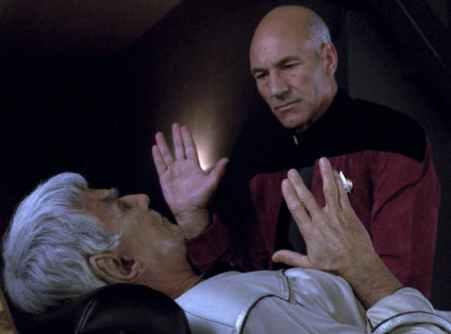 Picard y Sarek