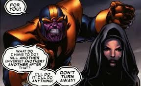 Thanos y Muerte