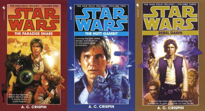 La trilogía de Han Solo en el UE.