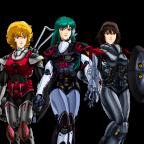 Robotech, 2ª generación – Personajes.
