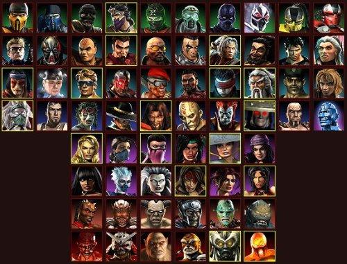 Mortal Kombat Armaggedon personajes