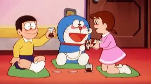 Doraemon alcohol