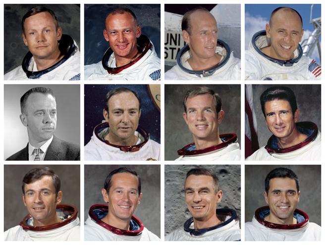 Astronautas que llegaron