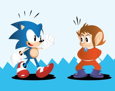 Sonic y Alex